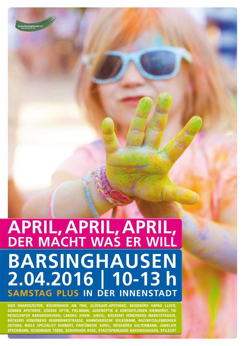 SamstagPlus April