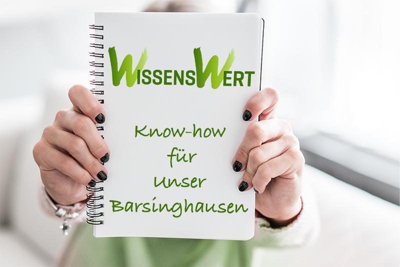 WissensWert Know-How für unser Barsinghausen
