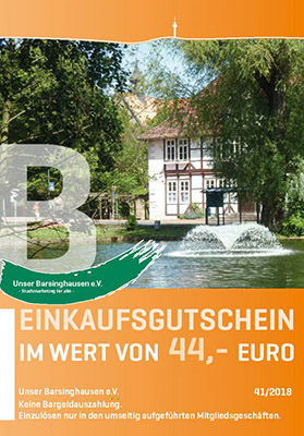 Einkaufsgutschein Barsinghausen