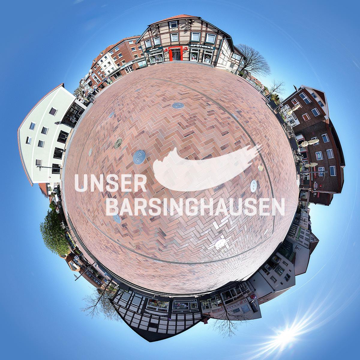 Virtuell in der Barsinghäuser Innenstadt
